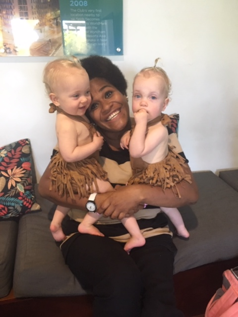 Lovely baby stealers in Fiji