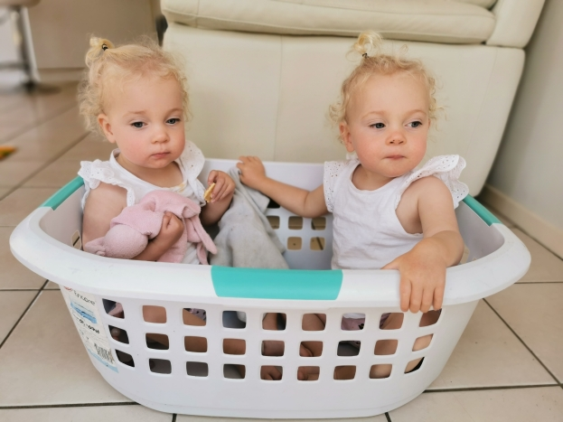 Time for some flashbacks...Washing basket babes